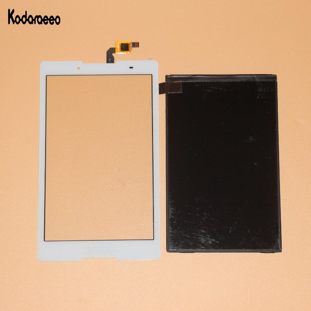 Novo Para Lenovo TAB3 8.0 850 850F 850 m TB3-850M TB-850M Tab3-850 Touch Screen Digitador de Vidro + Display LCD de Substituição branco
