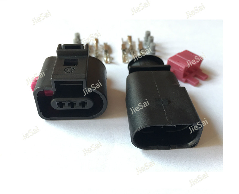 3 Pin 1J0 973 703 1717888-1 1J0973803 ACPSW 1.5mm Auto Air-Condition Pressure Switch Camshaft Sensor Auto Connector 1 0