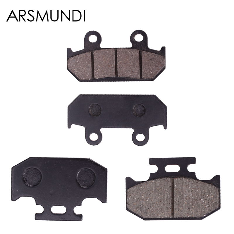 High Quality Brake Pads Disks Shoes Front And Rear For Yamaha TT-R 250 TTR250 L/M/N/P 1999 2000 2001 2002 2003 2004 2005 2006