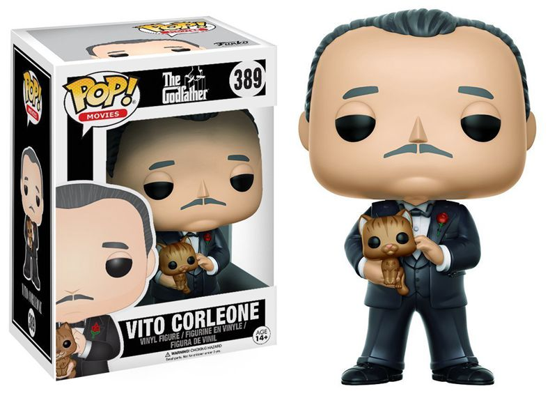 Funko Pop Official Movies: The Godfather - Vito Corleone Vinyl Action Figure Collectible Model Toy With Original Box