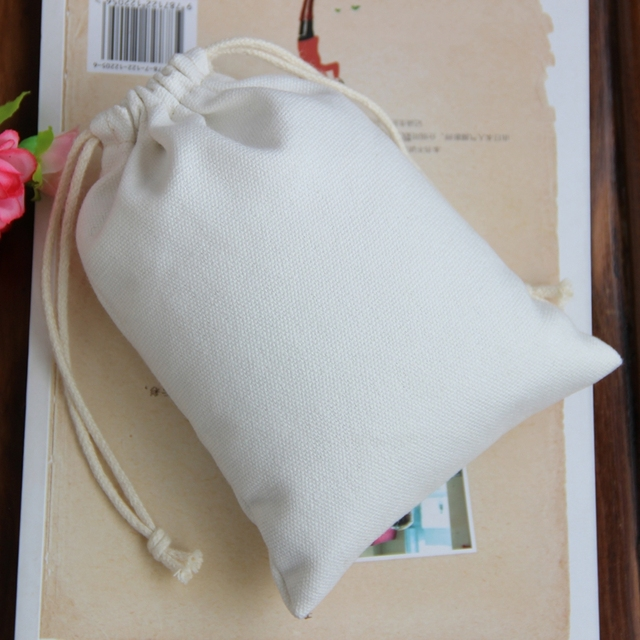 High quality canvas customized cheap drawstring bag 2ce3da845