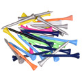 """50Pcs Mischen Farben Golf Holz T 70mm 2 3/4 """"Professionelle Holz Golf tees Golf Holz Tees -"""