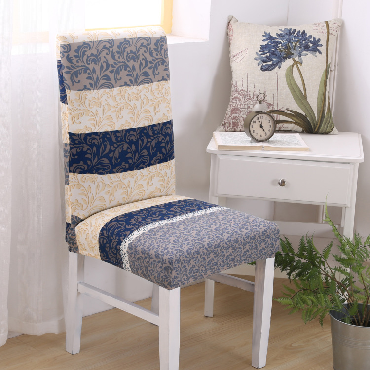 Spandex Removable Anti Slip Stretch Dining Chair Protector Slipcover Cover  Chic Soft Dining Room Decoration