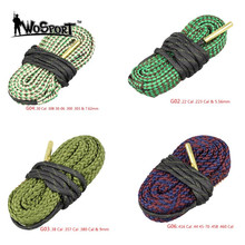 Jakt Gun Bore Cleaner Snake.22 Cal .223 Cal & 5.56mm, 9mm, 7.62mm, 4.5mm Caliber Snake Rope Rifle Cleaning Barrel
