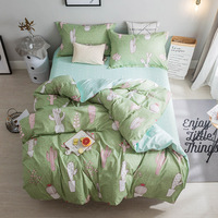 Aliepxress Top Recommend 2018 Fashion Duvet Cover Queen Bedding Set King Size 4pcs With 1 Quilt