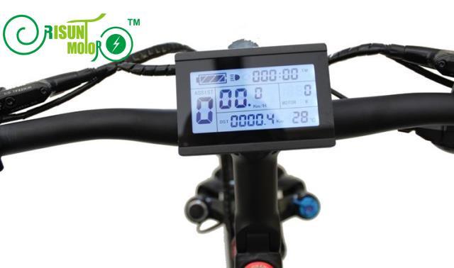 Free Tax 24V 36V 48V Universal 60V 72V ebike Intelligent LCD3 Display Control Electric Bicycle Conversion