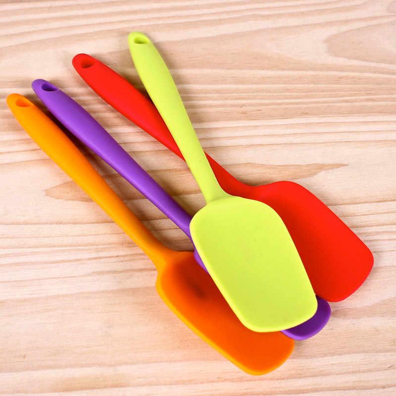 Жаропрочное силиконовая лопаточка Лопата антипригарное масло инструмент для приготовления печенья лопатка для выпечки приспособления для выпечки торта кухонная лопатка