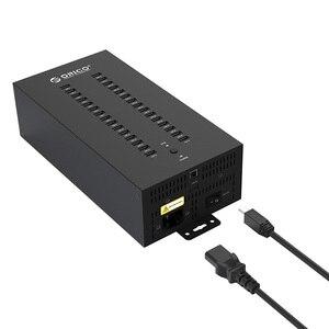 Image 2 - Centrum 30 porty USB przemysłowe USB2.0 HUB USB Splitter z 2 modele transmisji danych lub ładowarka USB, IH30P