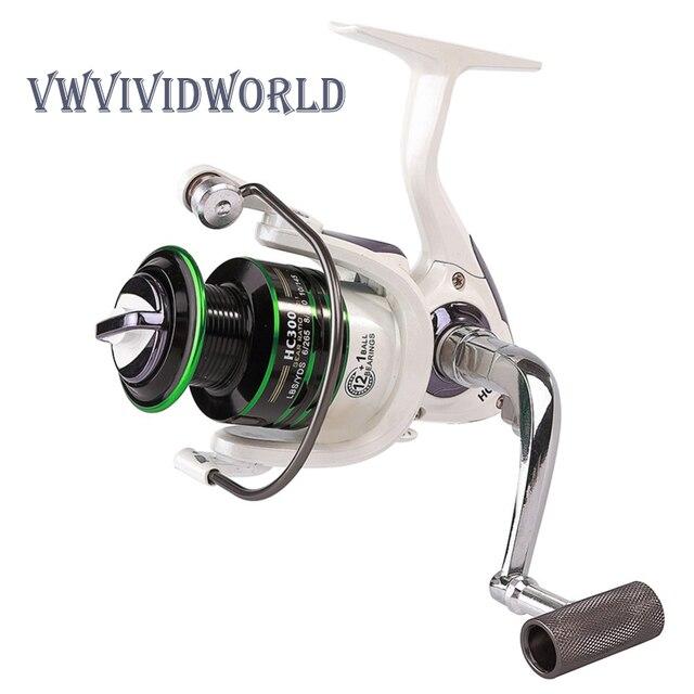 2019 New Fishing Reel 12+1BB Max 9.5kg Spinning Reel Professional Metal spool Rod Combo Fish Reels + Fishing Rod