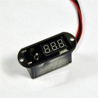 2 In 1 5A UBEC Digital Display Switch Voltage 4-13V Current 2108#