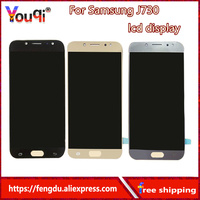 Full Digitizer LCDs Replace For Samsung Galaxy J7 Pro 2017 J730 J730F Phone LCD Display Touch
