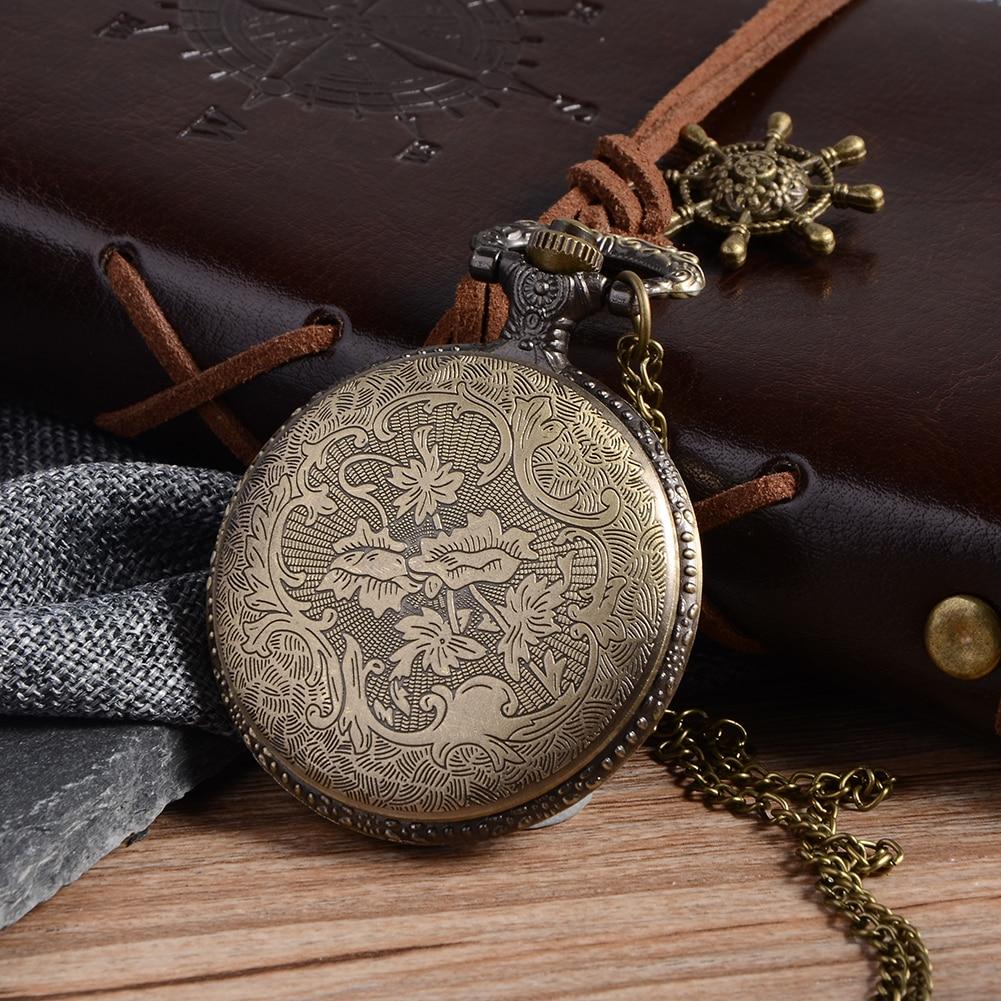 Cindiry Vintage ασημένια γοητευτικό χρυσό - Ρολόι τσέπης - Φωτογραφία 4