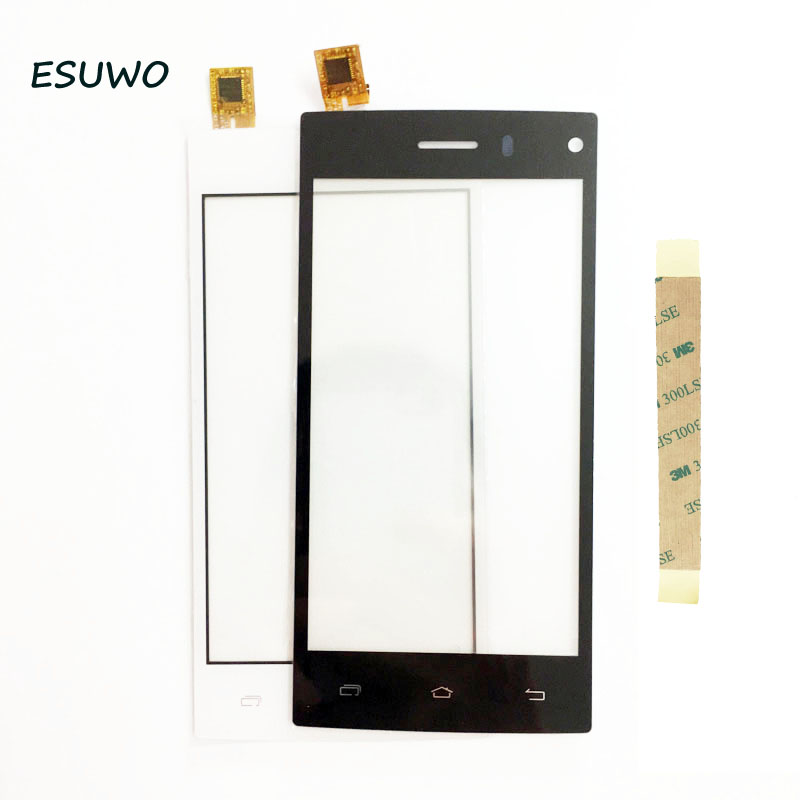 ESUWO 4.5 Tactile Écran Pour DEXP Ixion X 4.5 Écran Tactile Tactile Digitizer Panneau Avant Du Capteur En Verre