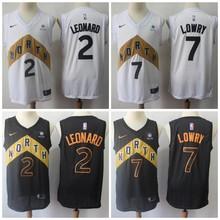 ed5b783534d Free shipping Toronto Mens Adult #2 Kawhi Leonard 7 Kyle Lowry 10 DeMar  DeRozan Jersey