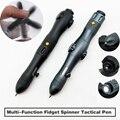Новинка 2019, многофункциональная тактическая ручка для самозащиты, Спиннер, аварийный стеклянный выключатель, инструмент для выживания на о...
