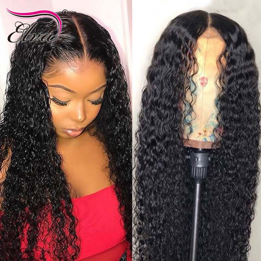 360 Lace Frontal Human Hair Wigs For Black Women Brazilian Curly Human Hair Wig Pre Plucked
