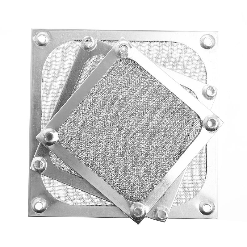 80/90/120mm Size Metal Dustproof Mesh Dust Filter Net Guard For PC Computer Machine Box Cooling Fan, Computer Fan Dust Filter