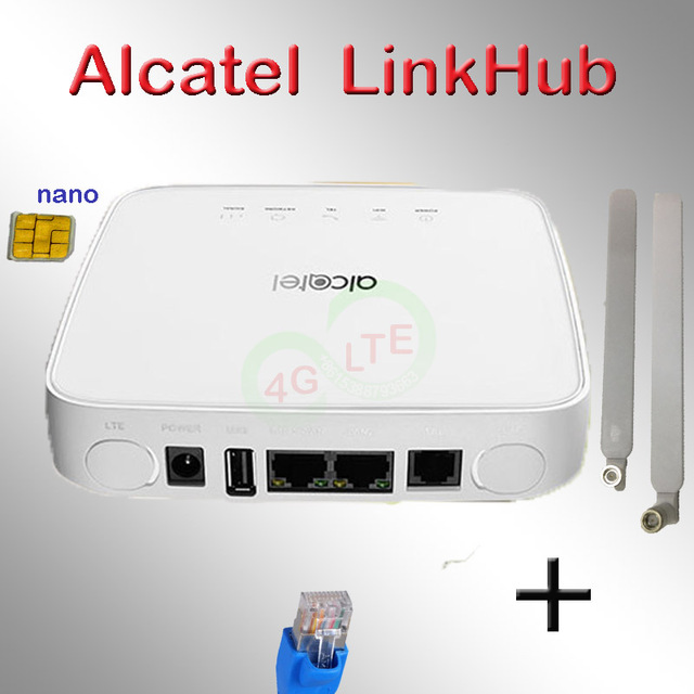 Unlocked Alcatel LinkHub HH70 EE Alcatel HH70vb 4G 300 mbps LTE Cat7 5g çift bant AC wifi ev hub yönlendirici LTE kablosuz router