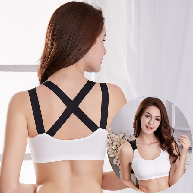 743e5385293e9 9506 New Sexy Lace Absorb Sweat Lady Safety Bra Wrapped Chest Lingerie  Seamless Thin Vest Beauty Breathable Underwear 3pcs lot