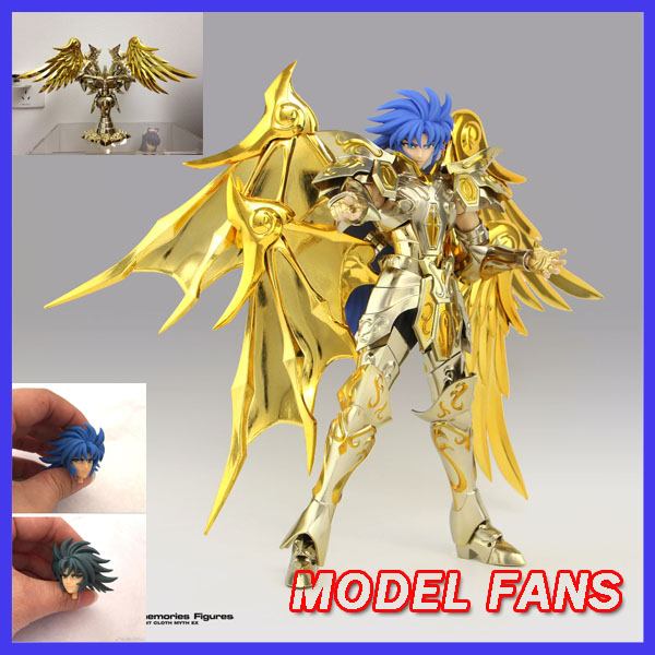 все цены на  MODEL FANS IN-STOCK GreatToys Great toys  EX soul of Gold sog gemini saga deluxe version Saint Seiya metal armor action figure  онлайн