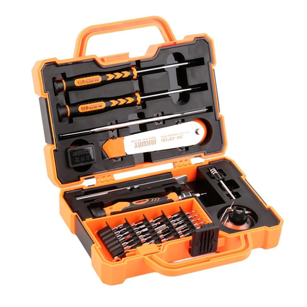 JAKEMY 45 in 1 Screwdrivers Set Repair Kit Opening Tools For Cellphone ComputerJAKEMY 45 in 1 Screwdrivers Set Repair Kit Opening Tools For Cellphone Computer