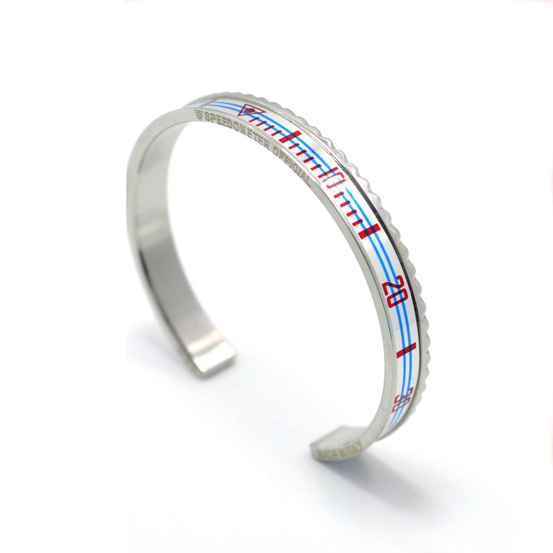 Speedometer Stainless Steel Fashion Bracelets 12
