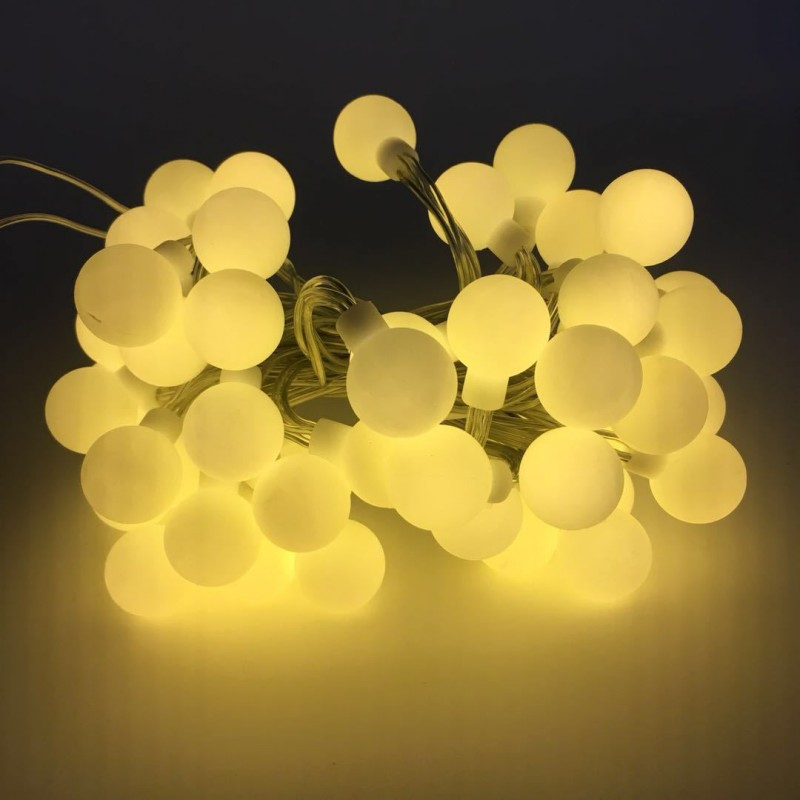 4M 40 LED Battery Powered LED Waterproof Indoor And Outdoor Small Ball String Christmas Wedding Party Decoration Fairy Light