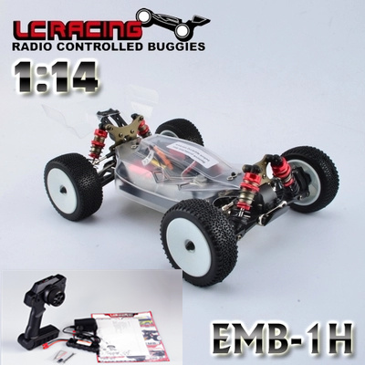 LC RACING 1:14 EMB Brushless motor Off Road 4WD RC Car Buggy Chassis RTR assembled Professional control toys best gift Grownups цена 2017