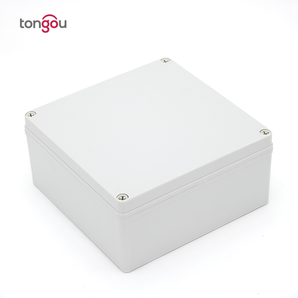 лучшая цена 200*200*130 mm IP67 Waterproof Plastic Enclosure Box Electronic Project Instrument Case Outdoor Junction Box Housing DIY