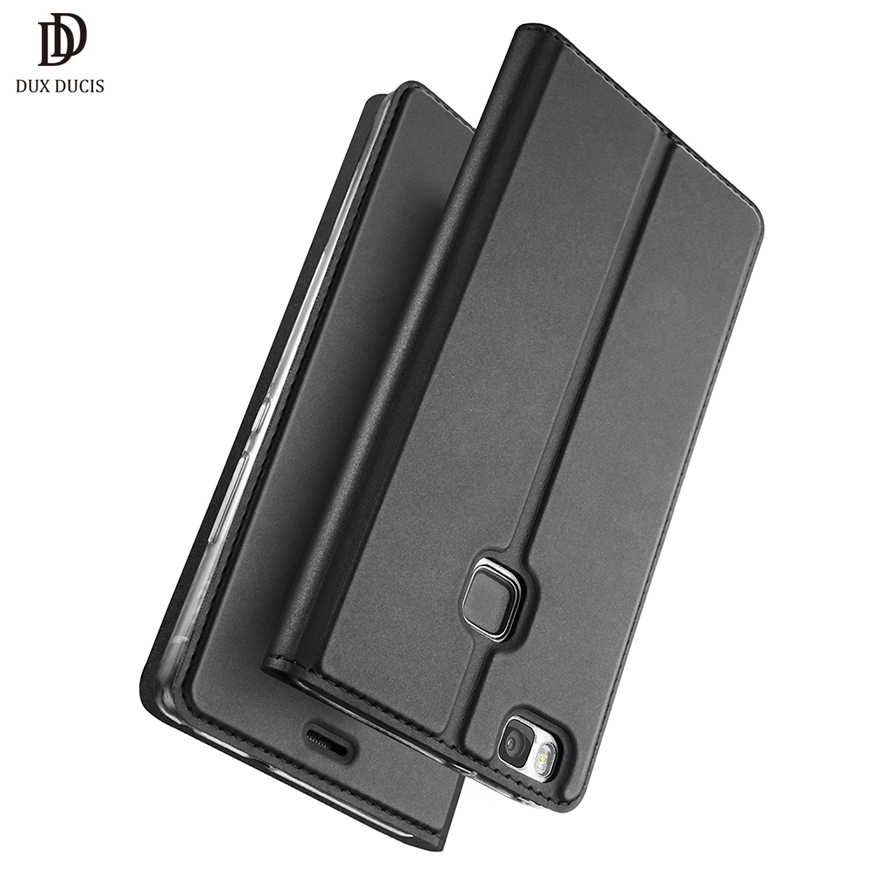 Huawei P9 Lite Case Cover Flip Leather Case for Huawei P9 lite Case Huawey P9lite Funda Luxury Protective Phone Cover 5.2""