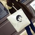 Vintage Retro Planet Printing Canvas Handbag Tote Bag Fashion Shoulder Bags Shopping Bags Lunch Weekend Bag