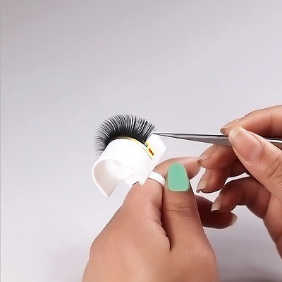 New Eyelash Extension Glue Ring Adhesive Eyelash Pallet Holder Makeup Kit Tool Make up