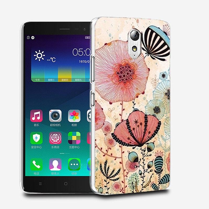 Teléfono lenovo vibe p1m cubierta case para lenovo p1m case cubierta de plástico