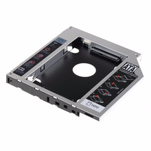 New 12.7mm SATA HDD SSD Laborious Drive Caddy Hdd Enclosure Optical DVD Bay Adapter Laborious Disk Esterno For Laptop computer Pc Asus Ok53SV