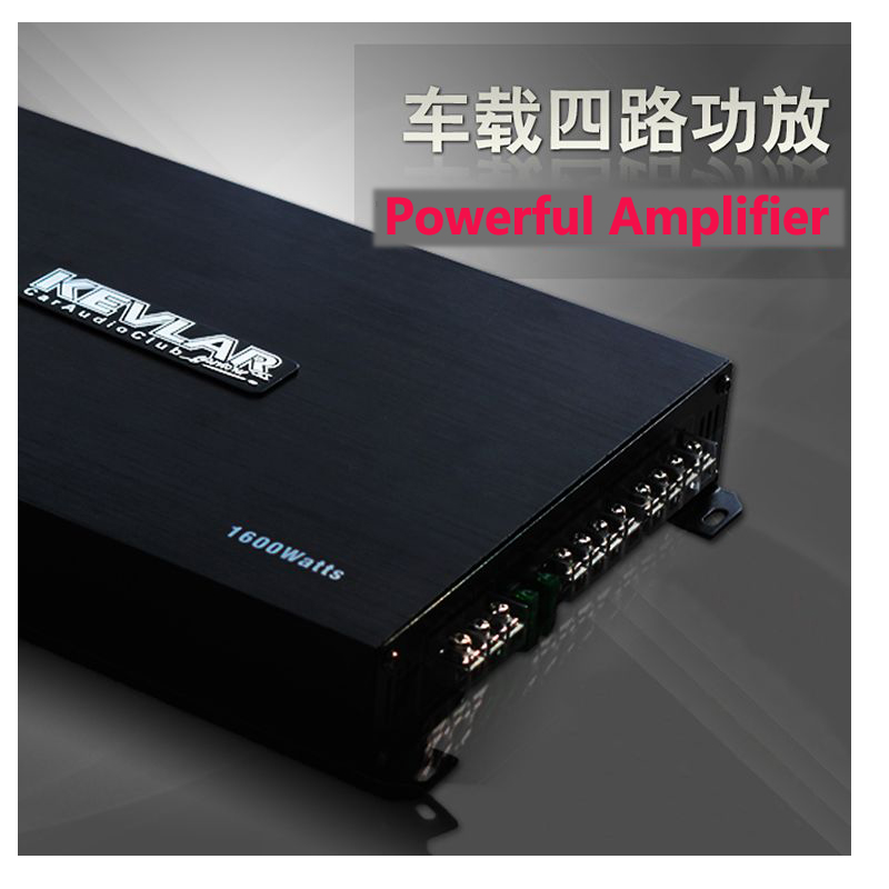 4CH High powerful class AB audio Amplifier best quality stereo RMS 4x100 watts car acoustic amplifier