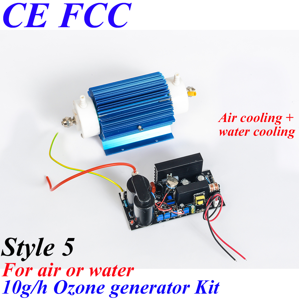 Pinuslongaeva CE EMC LVD FCC 10g/h Quartz tube type ozone generator Kit car ozone generator water air AC220V AC110V pinuslongaeva ce emc lvd fcc factory outlet 10g h quartz tube type ozone generator kit high voltage discharge type ozone kits