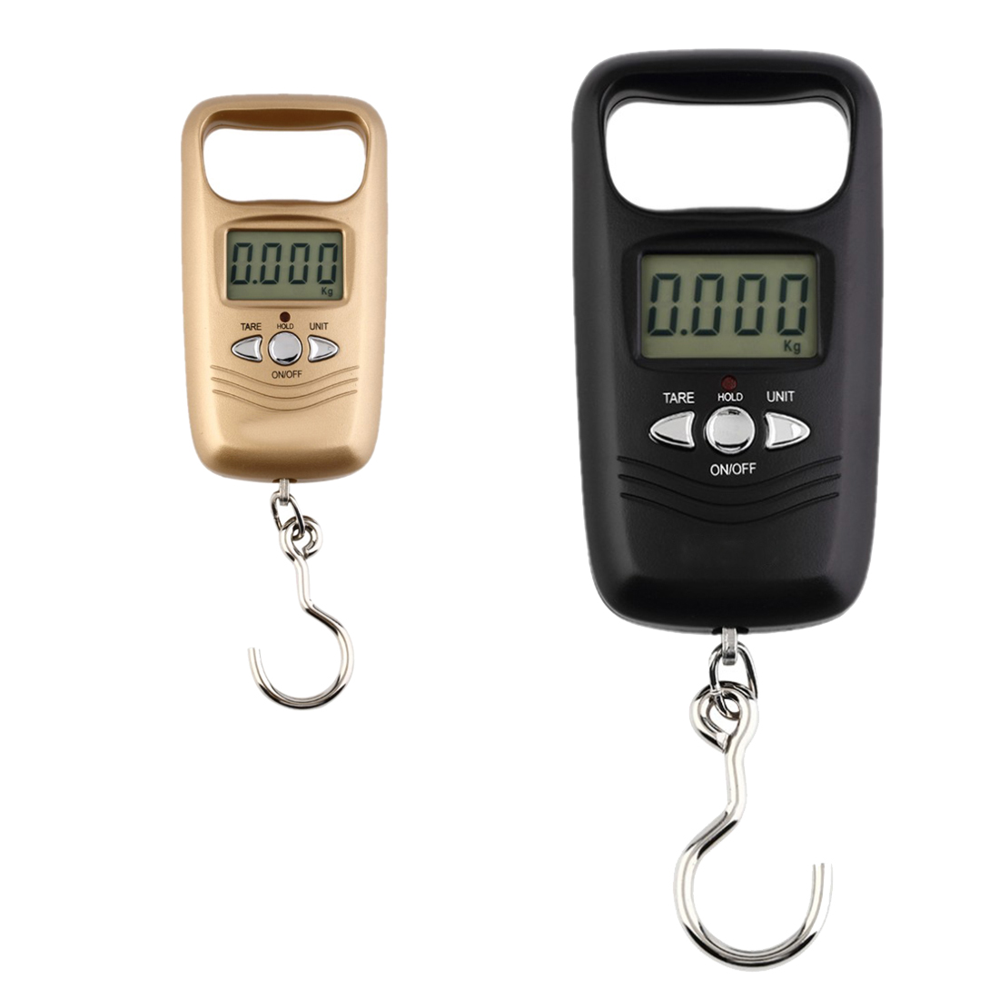 50kg/1g LCD Digital Hanging Luggage Weighting Fishing Hook Scale Electron Pocket Portable Scale