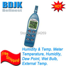 Digital Hygrometer / Professional Temperature and Humidity Tester with RS232 Interface