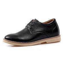 цена 2016 Fashion 100% Genuine Leather Men Dress Shoes Luxury Men's Business Casual Shoes Classic Gentleman Shoes  в интернет-магазинах
