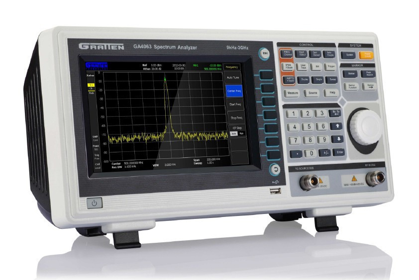 Llegada rápida ATTEN GA4033 + TG 9kHz a 3GHz analizador de espectro Digital Analizador de frecuencia con Generador de seguimiento 120W 240W Samsung LM301H/301B Quantum LED Grow Light Board Full Spectrum 3000K 5000K 660nm 760nm Hydroponic Kits