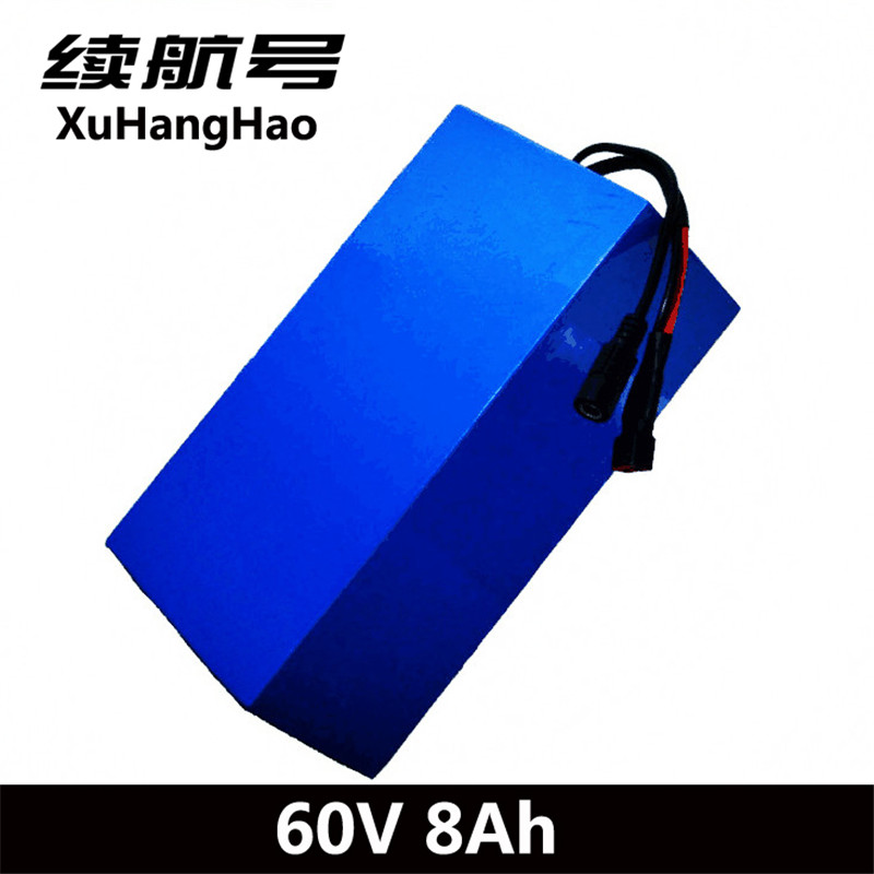 XuHangHao 60 v 8ah batterie li-ion 60 v 6AH 60 v 18650 cellulaire électrique monocycle batterie 60 v au lithium batterie pack