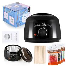 Electric Hair Removal Wax-Melt Machine Heater Stickers Hair Removal Sets Waxing SPA Hands Feet Epilator Depilatory Skin Care цена 2017