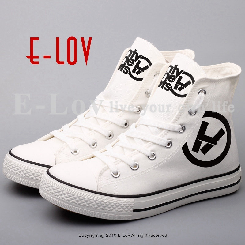 E-LOV Brand Casual Women Girls Canvas Shoes Graffiti Printed Low Top Flat Shoes Walking Leisure Shoe e lov women casual walking shoes graffiti aries horoscope canvas shoe low top flat oxford shoes for couples lovers