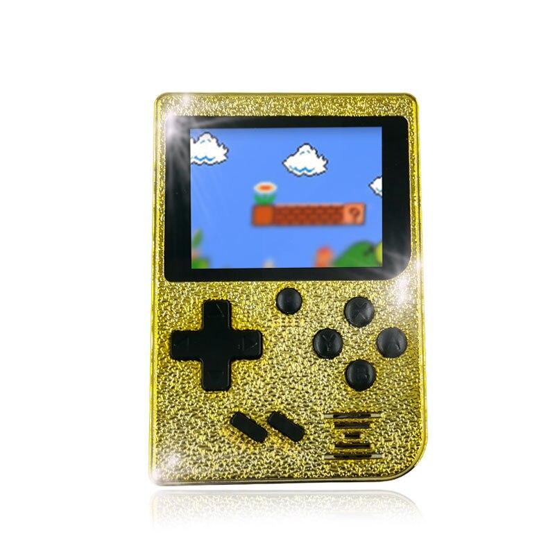 129 игры ретро мальчик 2,4 дюймов цветной экран портативная игровая консоль поддержка ТВ выход-in Портативные игровые консоли from Бытовая электроника