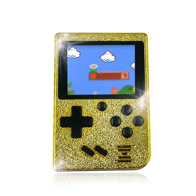 129 jogos retro menino 2.4 polegada tela colorida handheld game console suporte a saída de TV