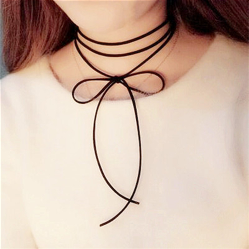 1Pcs-Sell-Wholesale-2018-Fashion-Trendy-Sexy-Hollow-Flower-Pendant-Water-Drop-Chokers-Necklace-Collar