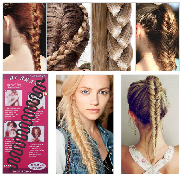 iMucci Hair Accessories Hair Bands Braiding Tool For Girls and Women Hair Twist Styling Bun Make up Hair Band Accessories