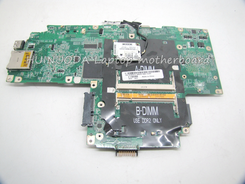 CN-0UW953 UW953 For Dell inspiron 1501 laptop Motherboard 0UW953 DDR2 SOCKET S1 mainboard ddr2 cn 0md666 laptop motherboard for dell inspiron 6400 e1505 da0fm1mb6f5 rev f 945gm ddr2 mainboard mother boards