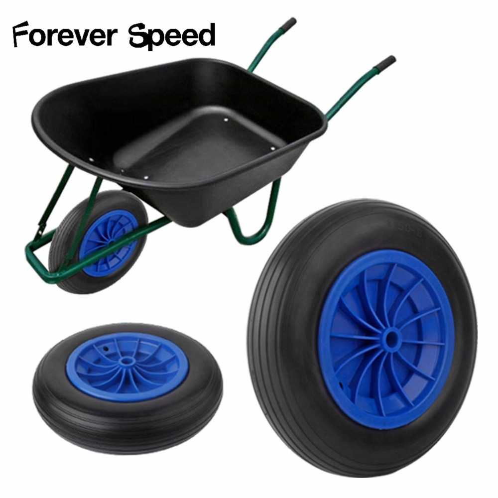 356X 80 mm Rubber Anti wrap Puncture Proof Sack Truck Trolley Cart PU Wheel Caster Load bearing 80kg DHL free shipping to DE/PL|Casters| |  - title=