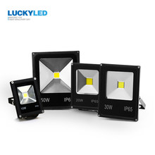 LUCKYLED LED Flood Light 10W 20W 30W 50W AC 220V Waterproof IP65 Floodlight Spotlight Led Reflector Garden Outdoor Lighting Lamp(China)